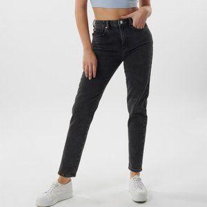Black Garage Mom jeans